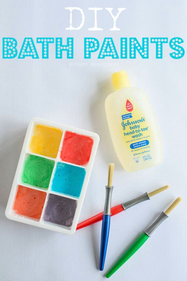 bath paints, art and crafts, diy kids art, how to