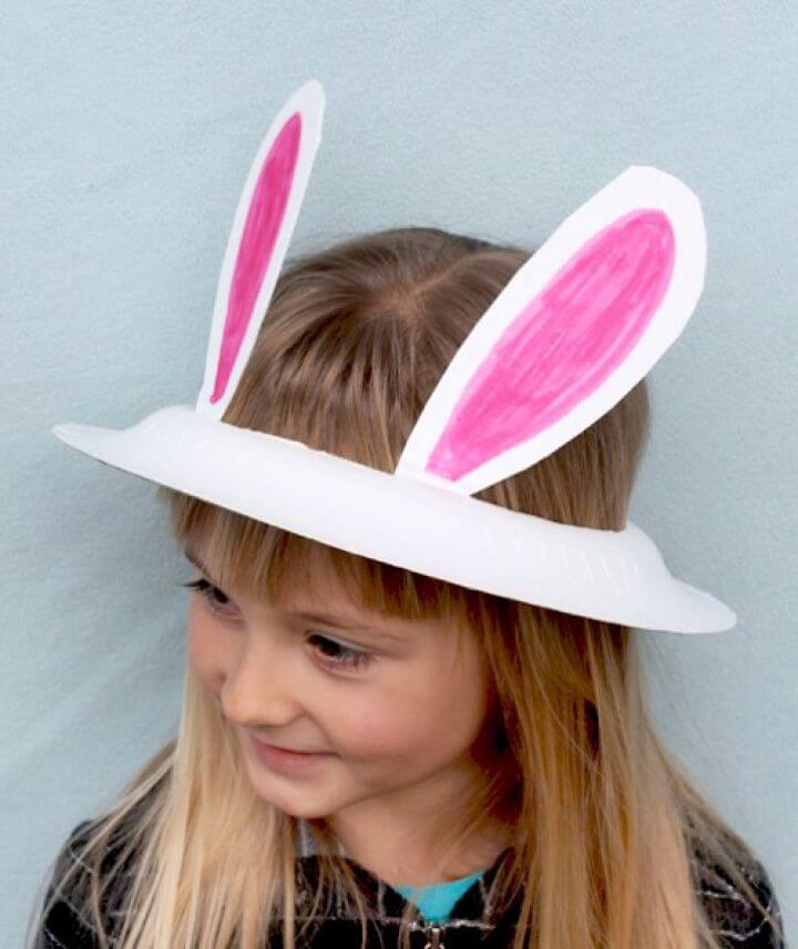 bunny hat kids, fun ideas, fun with kids, diy ideas,