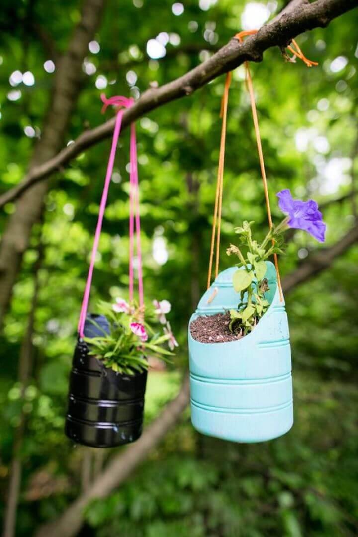 cute hanging planter, hanging ideas, planter ideas, diy ideas, diy crafts