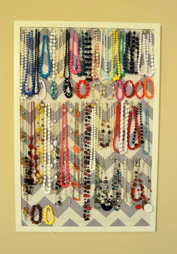 easy fashion ideas, jewelry pinterest ideas, pinterest, how to make, jewelry organizer ideas,