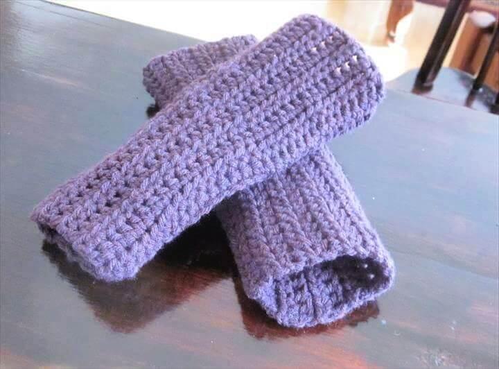 diy ideas, diy crafts, creative ideas, fingerless mittens, crochet patterns