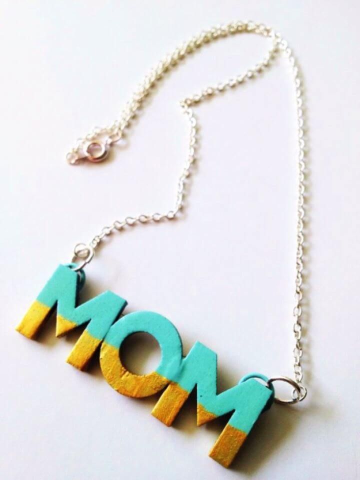 diy, mom necklace topper, ideas, top 20 gift ideas, 20 top ideas, diy and crafts,