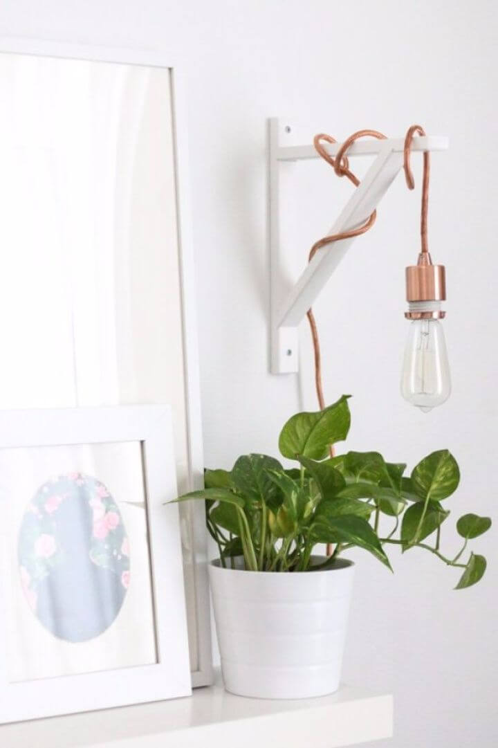 diy metallic pendant, sconce pendant ideas, crafts for room