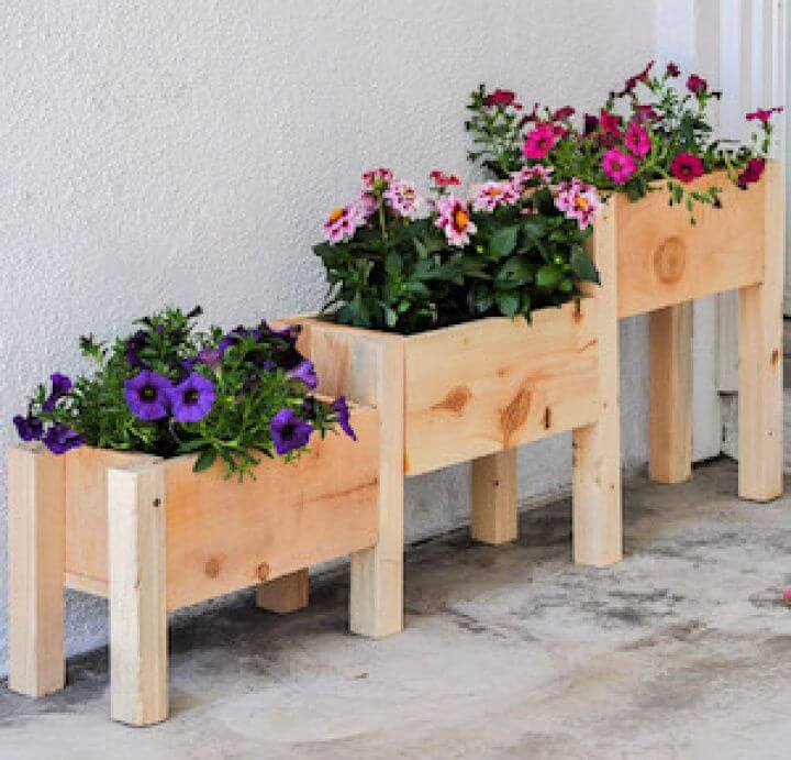 diy tiered, planter box anikas, diy life ideas, garden ideas