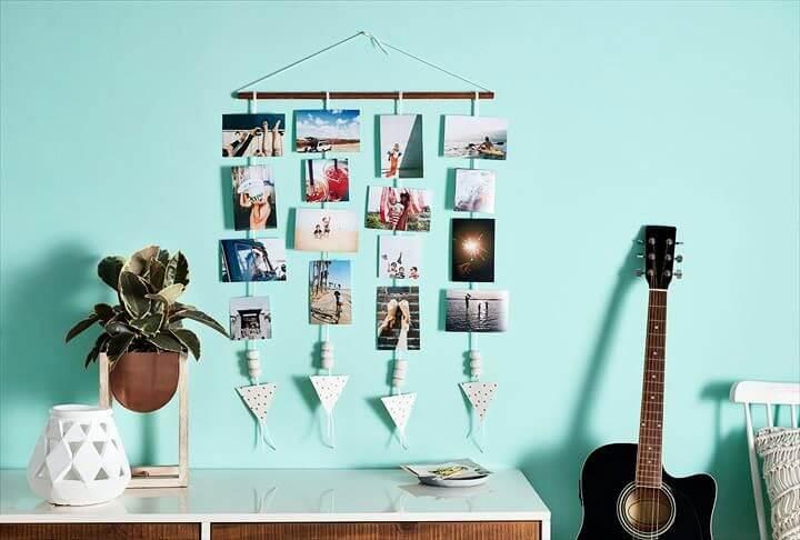diy wall art, hanging ideas, pics display wall art, how to decor wall