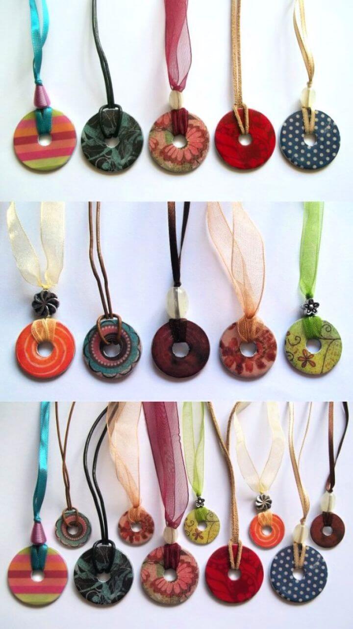 christmas ideas, christmas crafts, necklace washer, diy ideas, diy crafts,