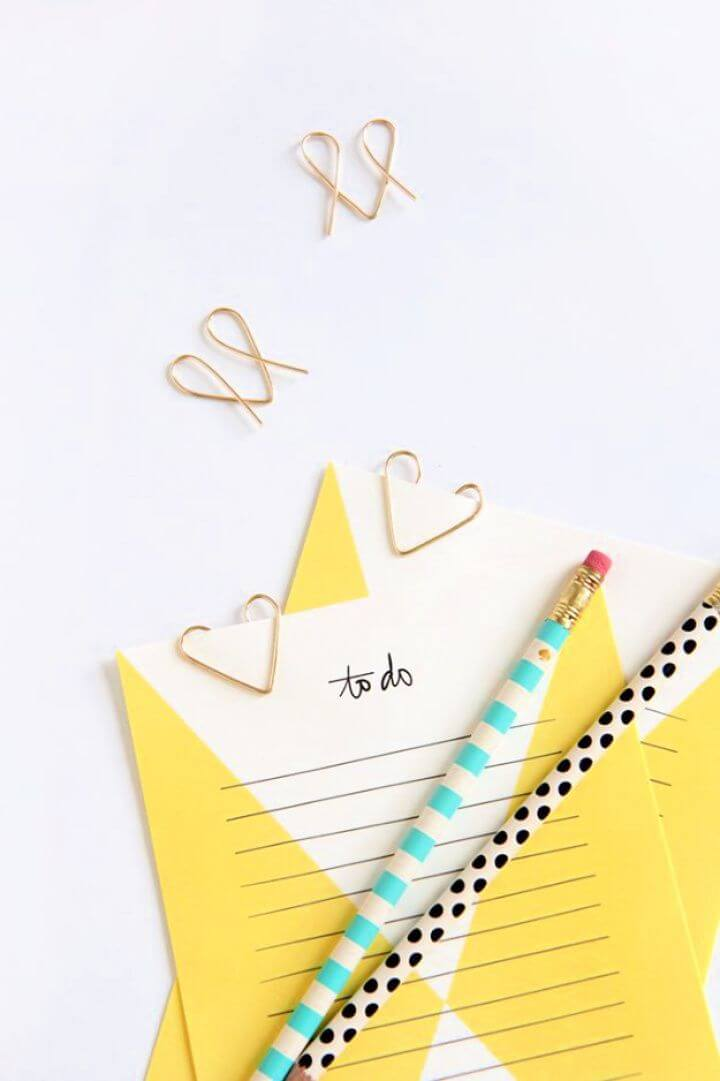 diy wire heart, paper clips, creative ideas, how to crafts, diy ideas,