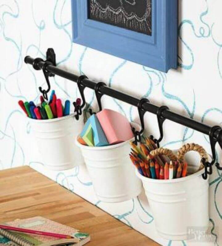 diy crafts, diy ideas, diy storage, diy school supplies,