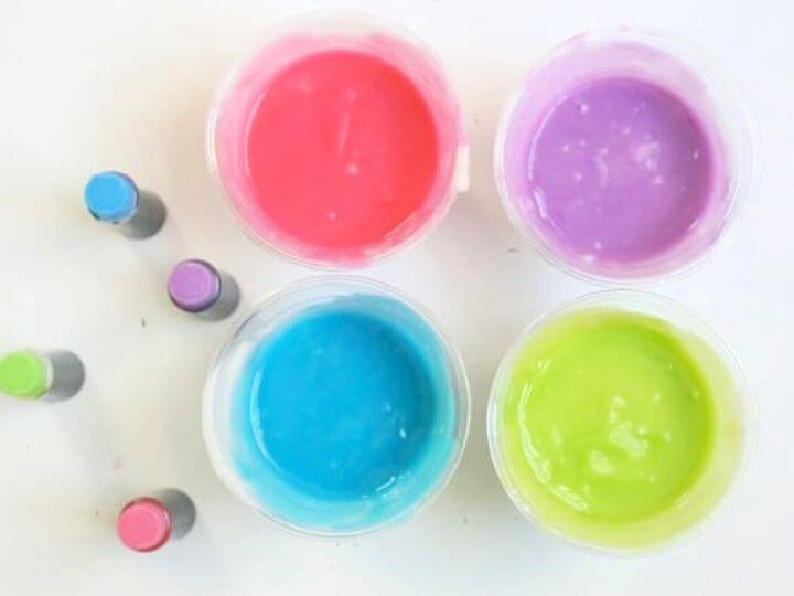 fingerprints, homemade edible, finger paints for kids, how to decor