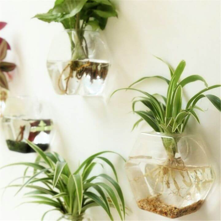 floating planters, living room projects