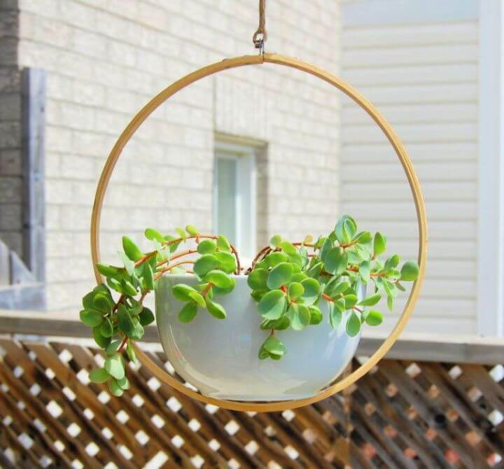 garden ideas, hanging ideas, garden hanging planters, how to garden