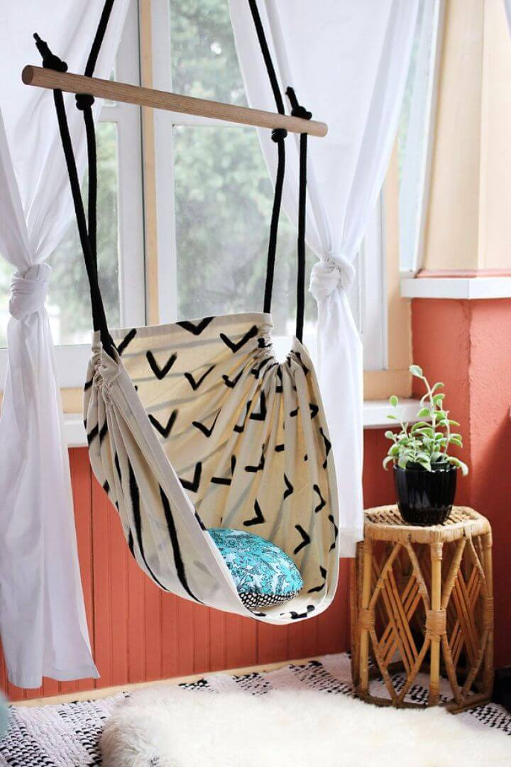hammock chair, DIY, Do it yourself, how to crafts