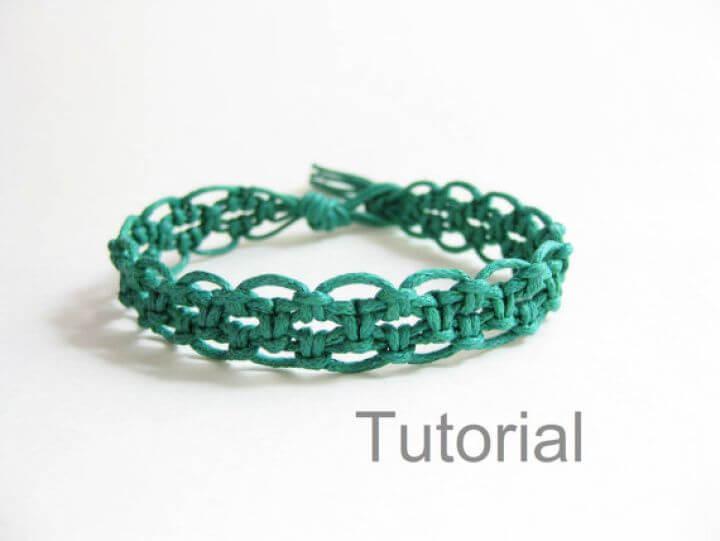 bracelets tutorial, how to, crafts, lacy hemp bracelets