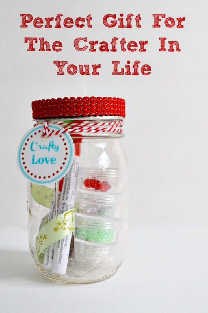 love mason jars, crafts mason jars, mason jar gift, gift ideas,
