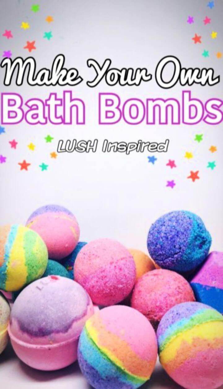 bath bombs, crafts for kids, crafts for girls, how to crafts, crafts ideas,
