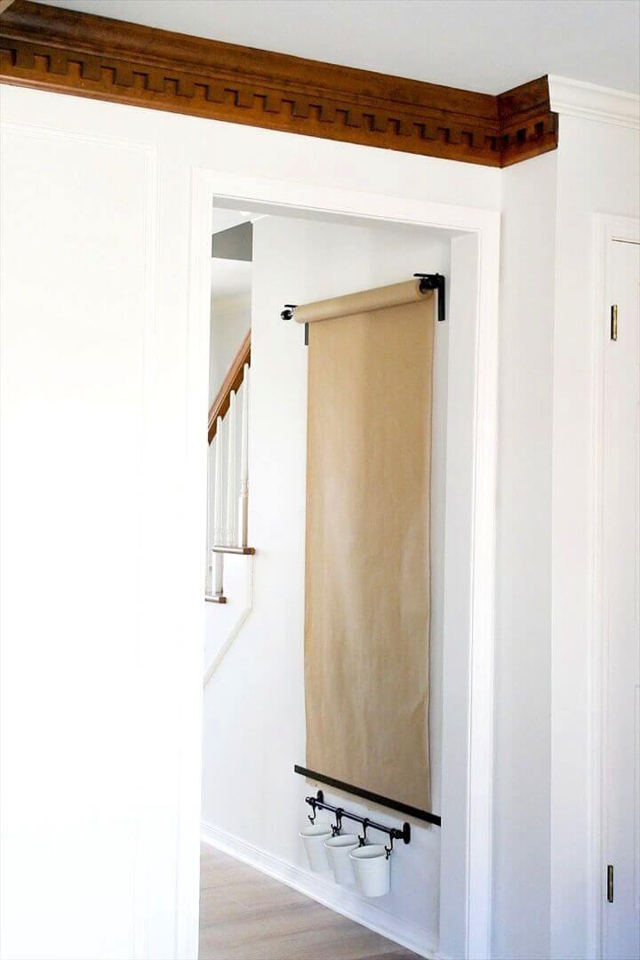 mounted easel, diy home decor, ideas, do it yourself, creatviediys.com