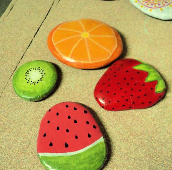 painted rocks, summer season, diy ideas, diy crafts for summer