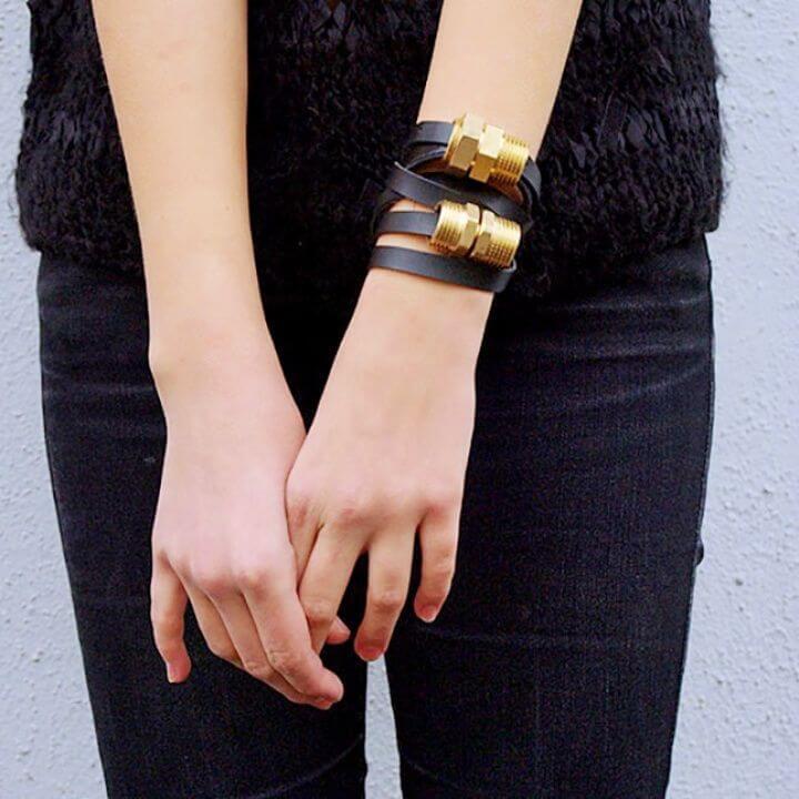 friendship bracelets, plumbing supplies bracelets, diy bracelet ideas