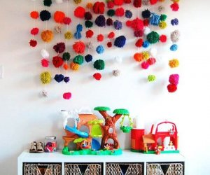 pom pom array, diy crafts, diy ideas, how to