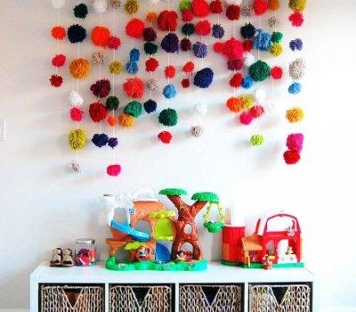 pom pom array, diy crafts, diy ideas, how to