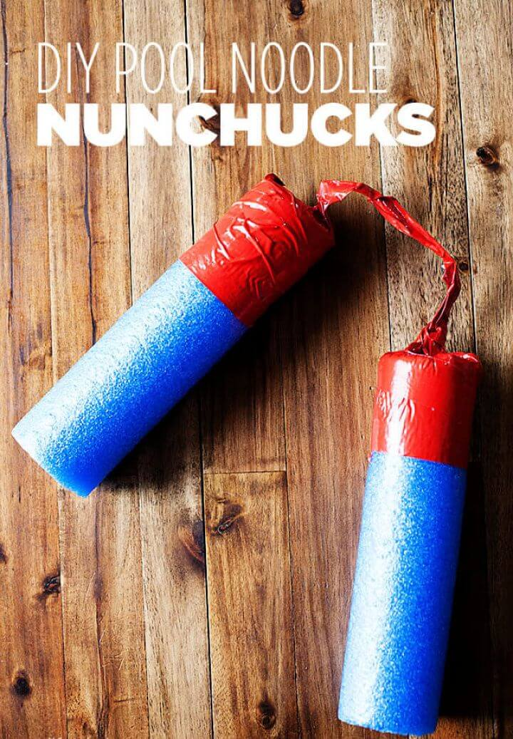 pool noodle, for kids, how to, diy ideas, diy projects