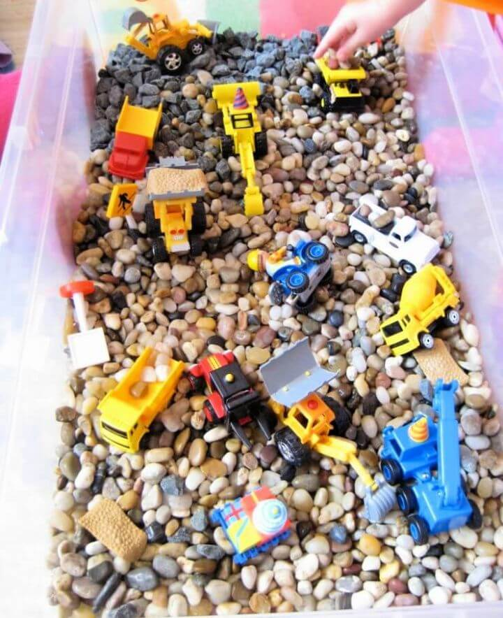 rocks and trucks, construction themed box, crafts for kids, ideas, diy crafts, make and sell, crafts to make and sell,