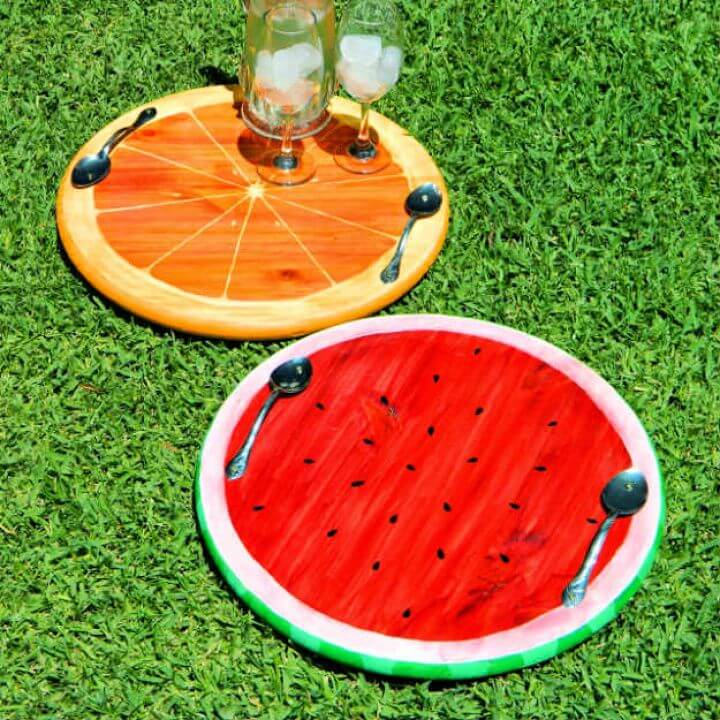 summer fruit trays, summer ideas, crafts for summer 2019, this summer ideas