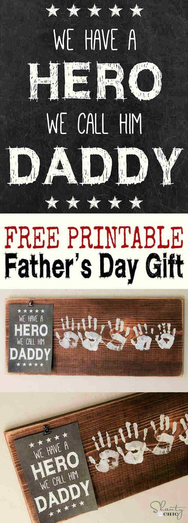 hero fathers day gift, gift for father, how to make, ideas for father