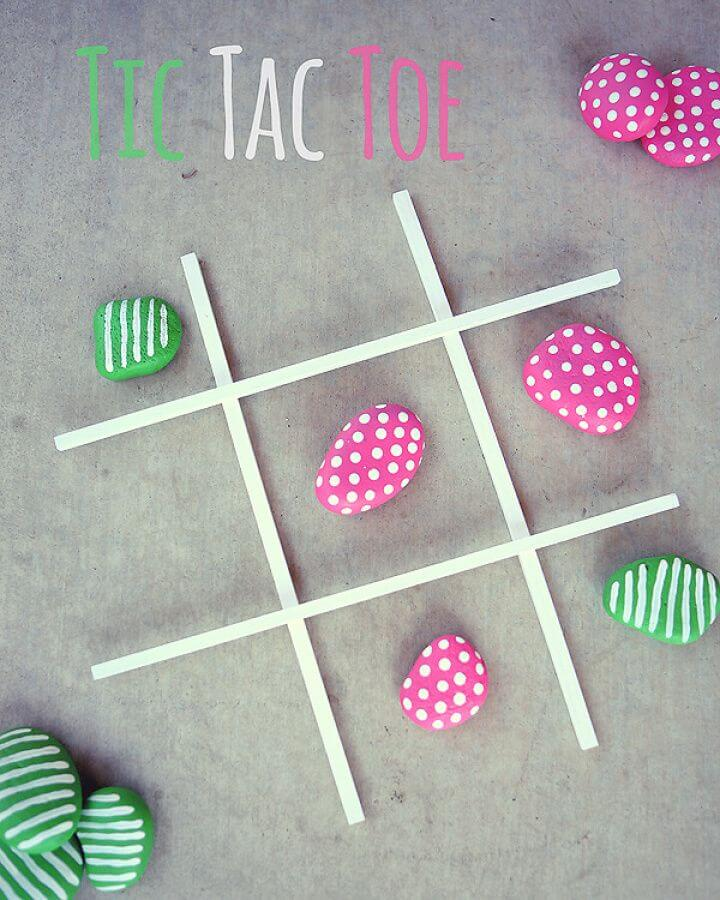tic tac rock, ideas, crafts for kids, how to, ideas, for kids, how to