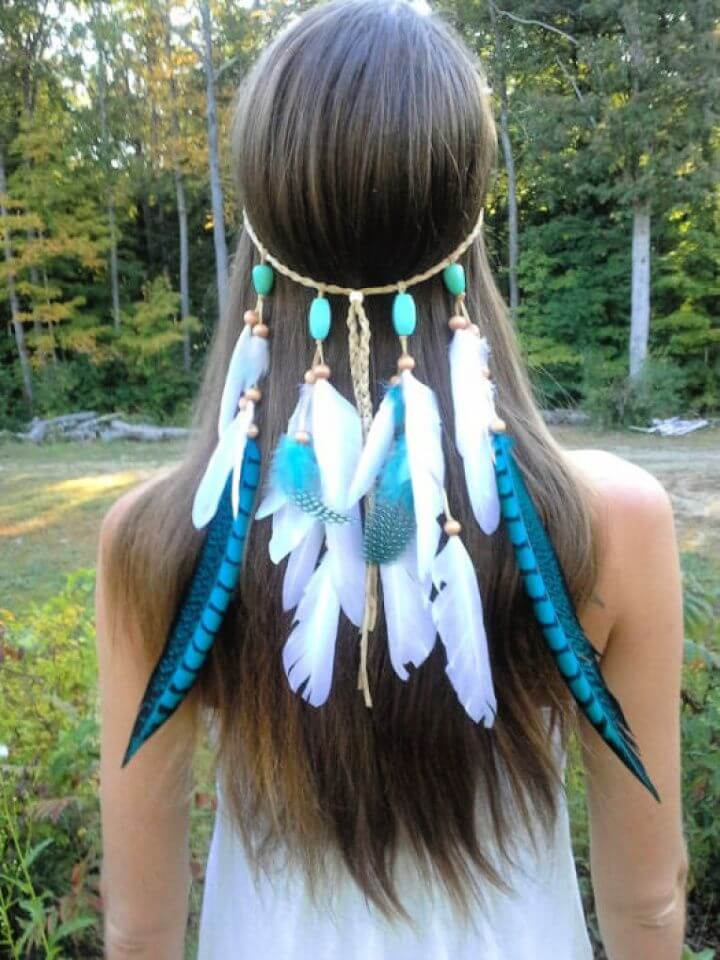 feather headband ideas, girls ideas, girls crafts, diy crafts,
