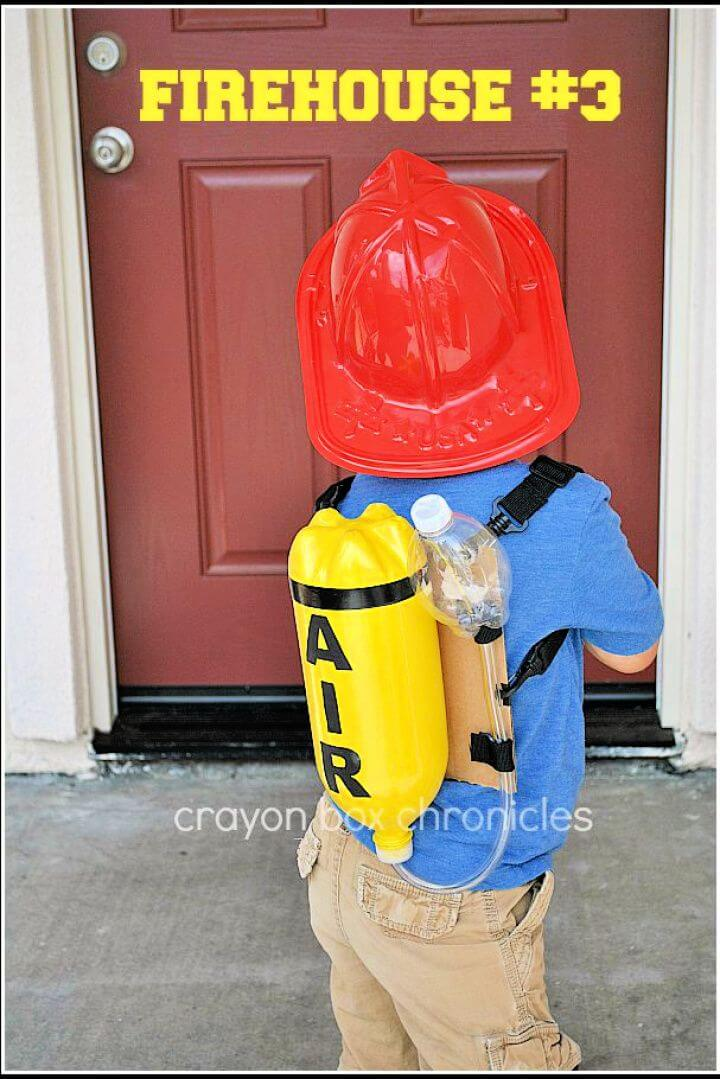 diy firefighter costume, ideas,