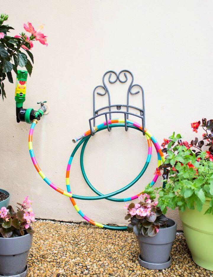 diy garden decor, duct tape, home decor, garden yard