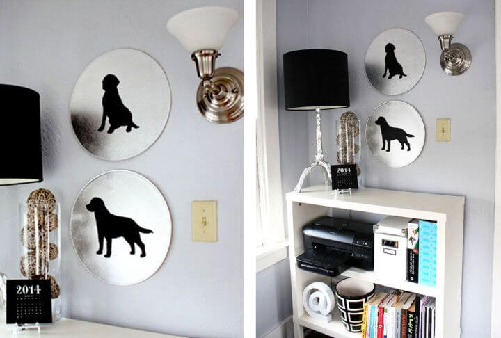 diy home decor, diy pet art, art for home, art and crafts, how to make
