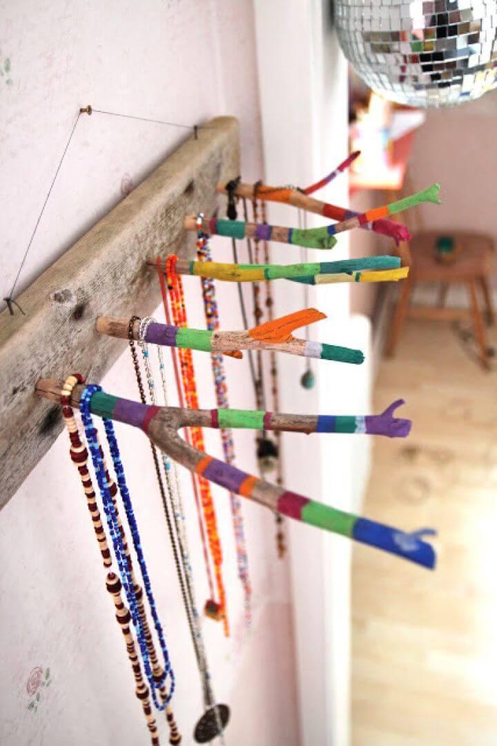 diy ideas, diy crafts, diy fashion, diy women ideas, jewelry holder,