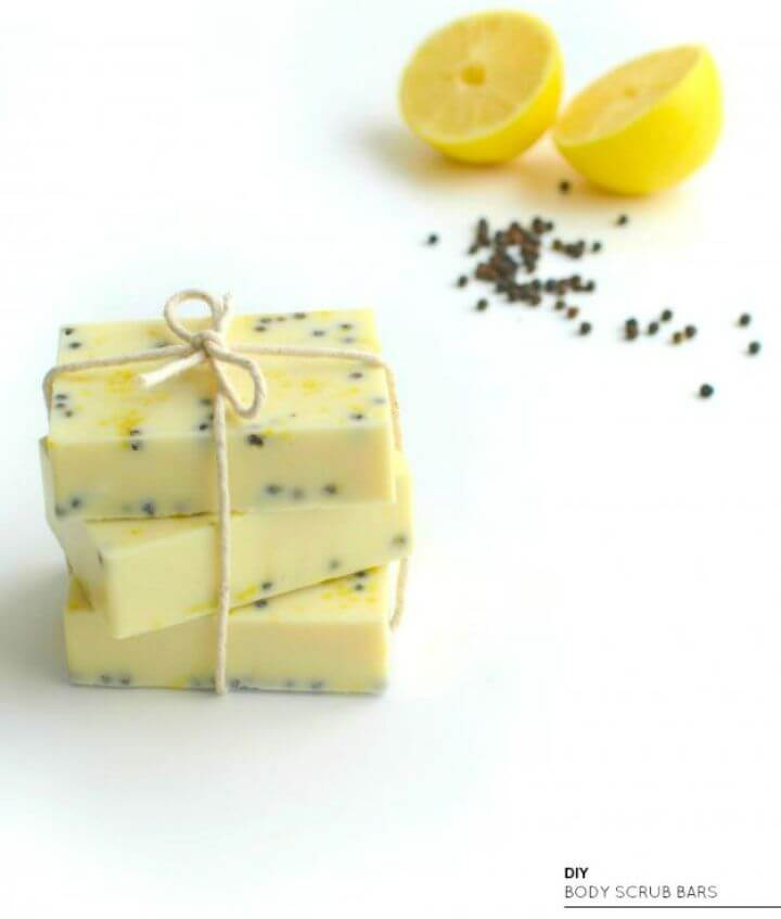 exfoliating body, scrub bars, crafts to make and sell