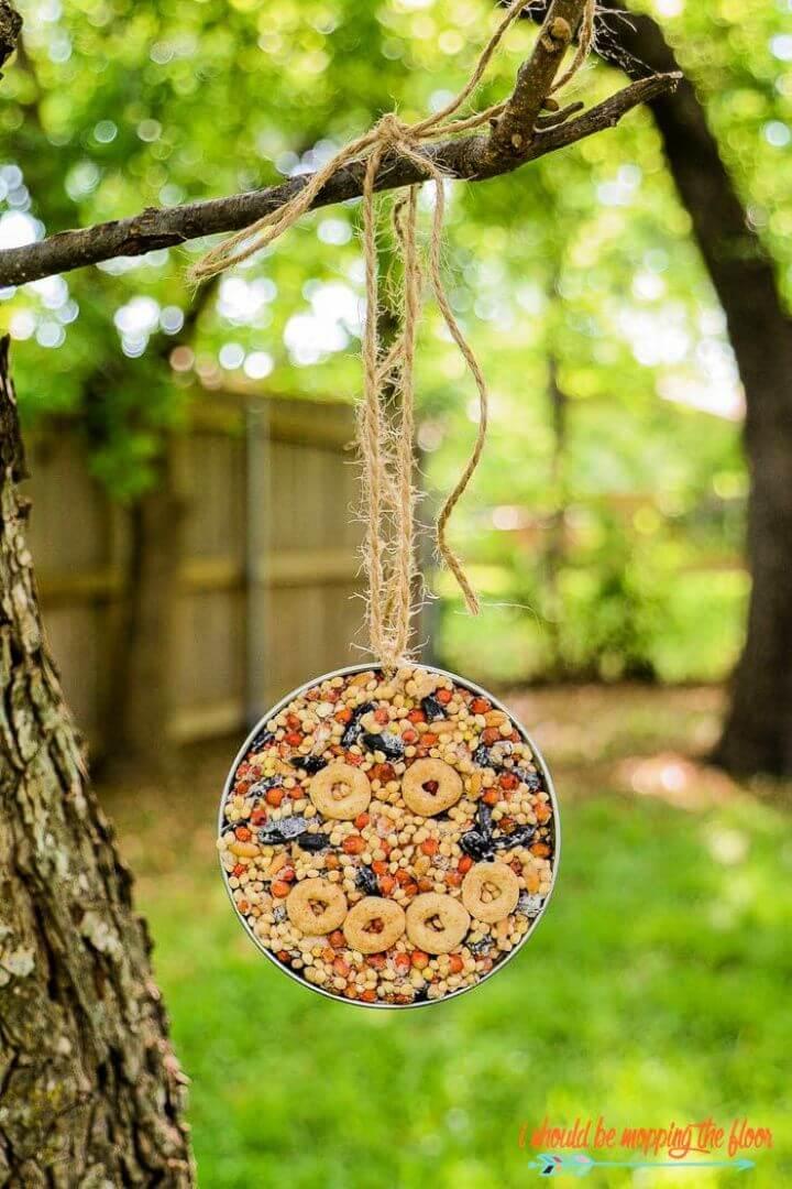 mason jar, bird feeder, crafts ideas, how to, 5 minute crafts
