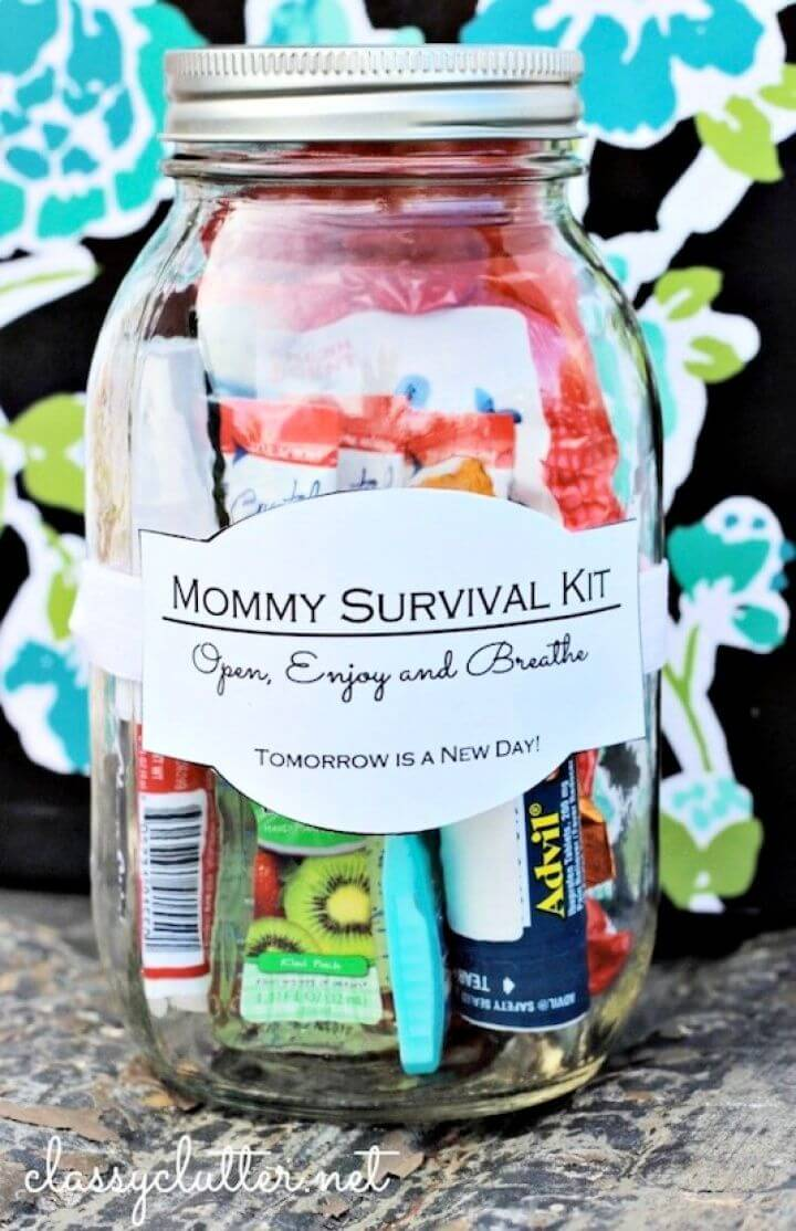 mommy survival, kit motherday gifts, mother day ideas,
