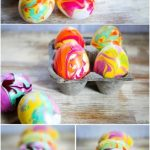 nail polish, Easter is about fun and celebration and we have some crafts you and your kids or toddlers can partake in. marbled eggs, for kids, kids ideas, kids crafts, kids do it yourself, diy and crafts
