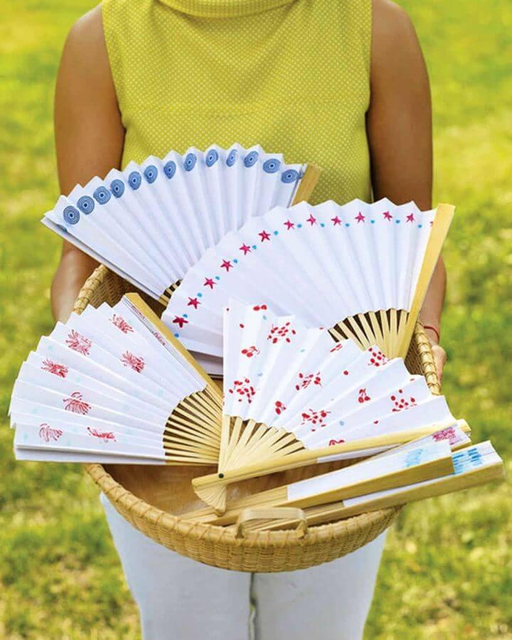 paper fans, creative paper crafts, creative ideas, creative diys,