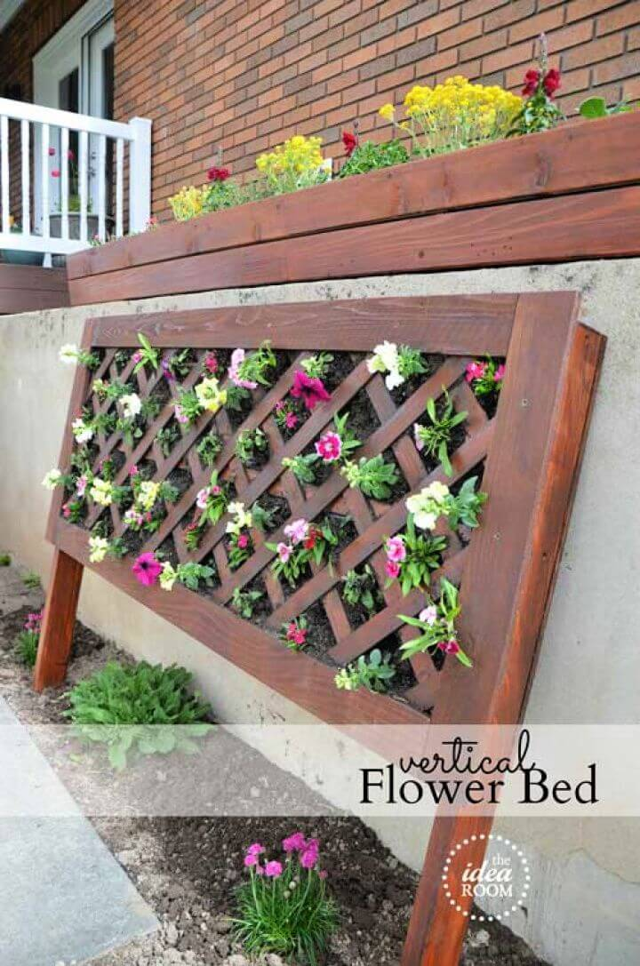 vertical flowers, garden ideas, garden projects, how to crafts, how to