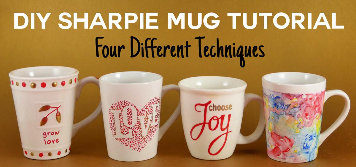 16 DIY Easy Coffee Mug Ideas - Fun Coffee Mug Design ...