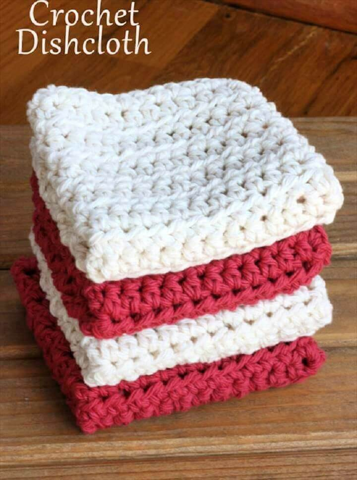 crochet patterns, dishcloths, do it yourself, diy crafts and projects, creative ideas,