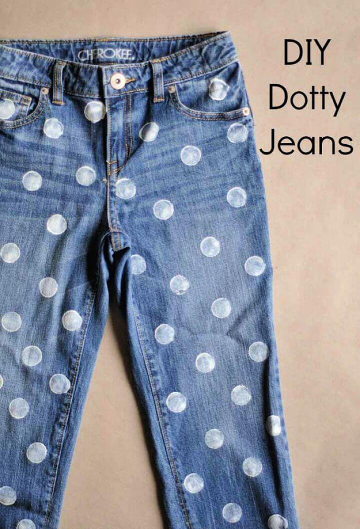 diy ideas, diy crafts, diy projects, dotty jeans, girls crafts,
