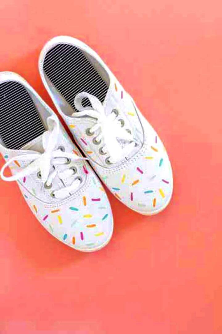 do it yourself, ice cream spring shoes, how to crafts,