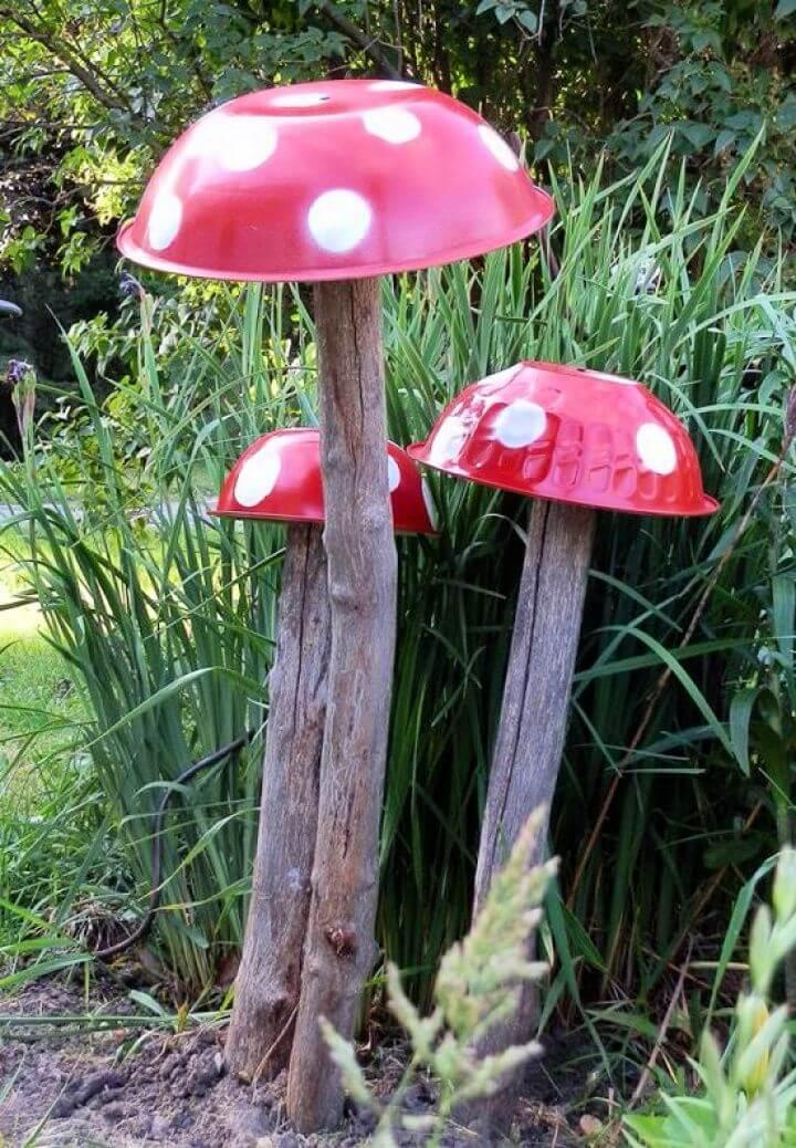 diy garden ideas, garden ornaments, diy ornaments, do it yourself, how to crafts,
