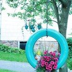 DIY Tire Flower Planter Tutorial