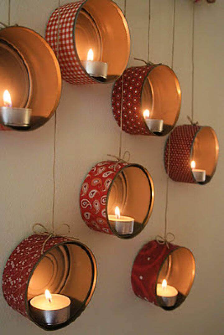 lightning tin cans, how to decor home, with tin cans, recycled tin cans, upcycled tin can,