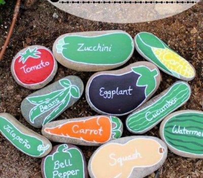 painted rocks, garden projects, diy ideas, diy crafts,