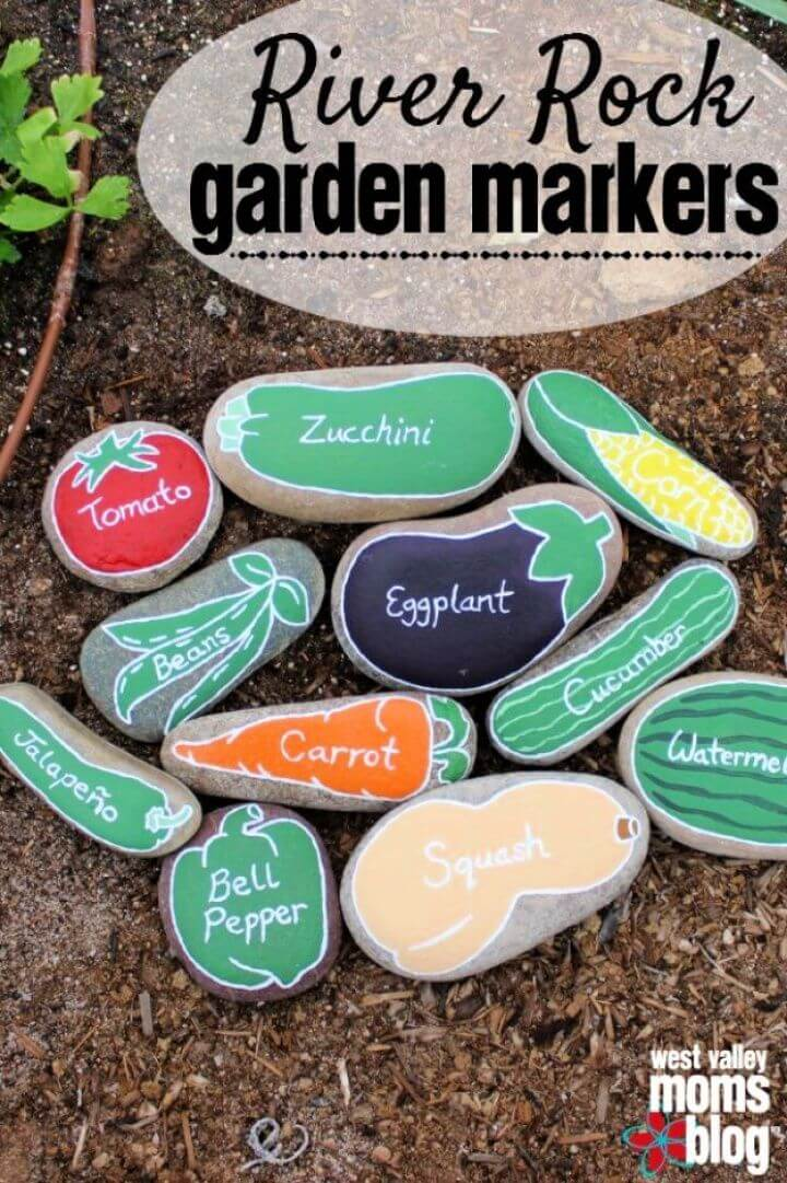 painted rocks, garden projects, diy ideas, diy crafts,