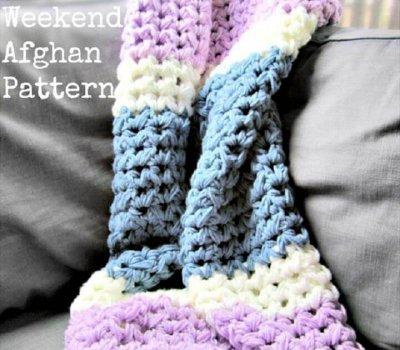 weekend crochet ideas, crochet patterns, crochet afghan patterns, crochet blankets, for beginner,